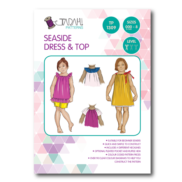 Seaside Dress & Top [Tadah Patterns]