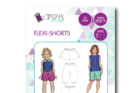 Flexi Shorts [Tadah Patterns]