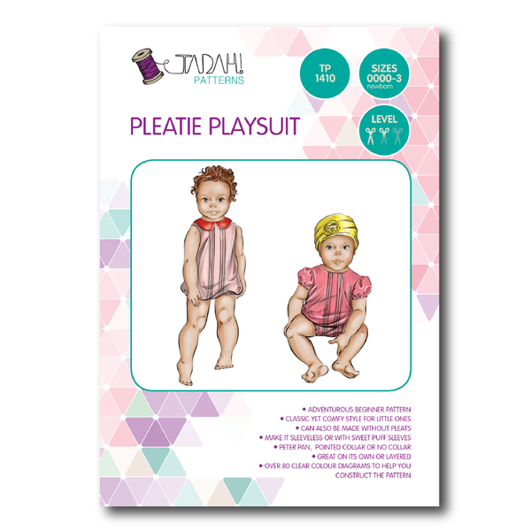 Pleatie Playsuit [Tadah Patterns]