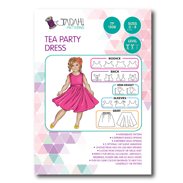 Tea Party Dress (Tadah Patterns)