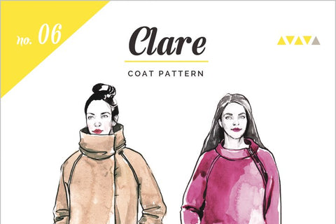 Clare Coat Pattern [Closet Core Patterns]