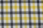 Colette Check Yarn Dyed Linen (Mustard)