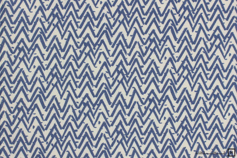 Dear Stella - Oh Happy Day Flannel - Zig-Zag (Baltic Blue)