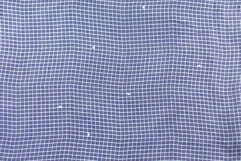 Bombazine Printed Cotton (Indigo)