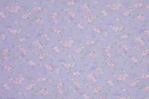 YUWA - Live Life - Tiny Pink Flowers in Garland [Lilac]