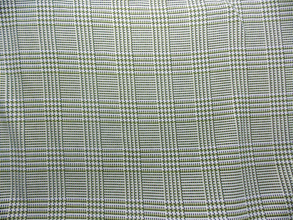 Italian Wool Check (Green/Black)