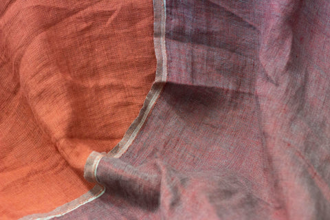 Washed Double-sided Linen [Red]
