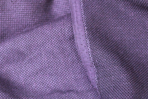 Tiny Diamond Pattern Linen/Cotton [Purple]