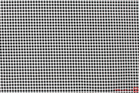 Zenya Houndstooth Check (Black/White)