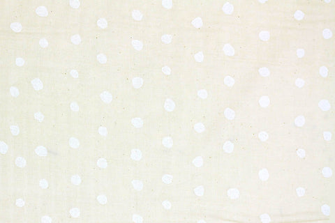 Kokka - Nani Iro Basic - Pocho Double Gauze [Cream]