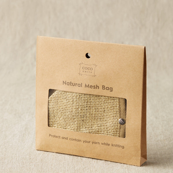 Natural Mesh Bag [Cocoknits]