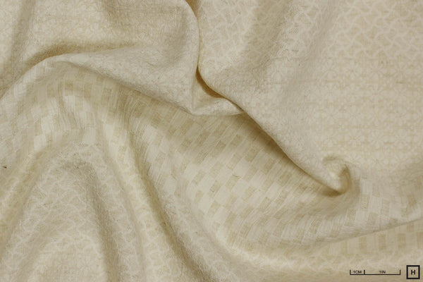 Scribe Jacquard Weave Cotton/Linen (Natural)
