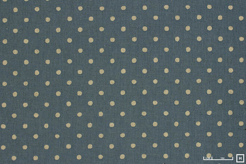 Sevenberry Printed Cotton/Linen Canvas Spots