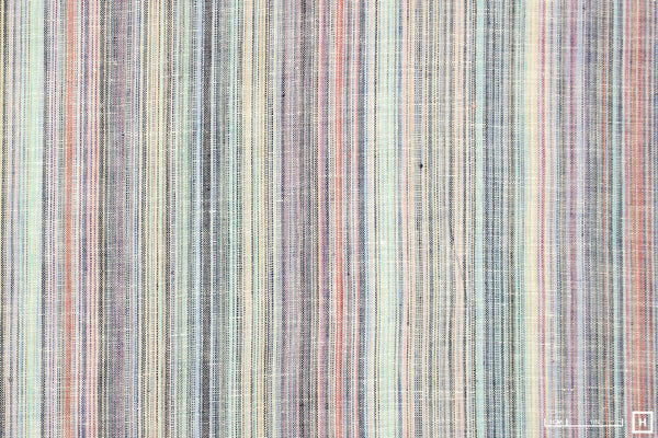 Estonian Striped Linen (Blue Multi)