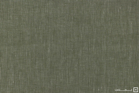 Sevenberry Yarn Dyed Linen/Cotton Poplin (Khaki)