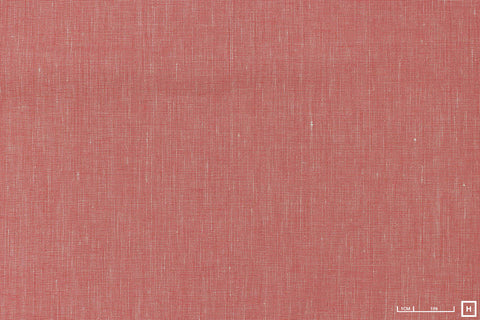 Sevenberry Yarn Dyed Linen/Cotton Poplin (Pink)