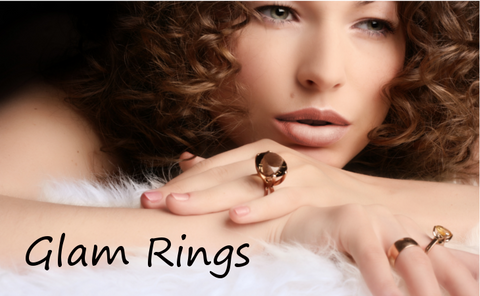 Glam Cocktail Rings