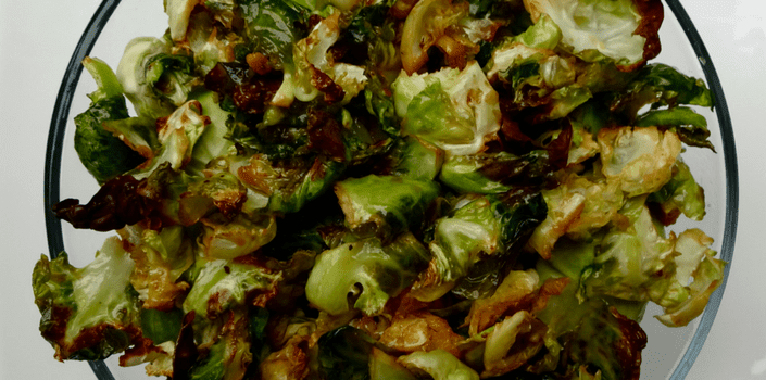 Crispy Brussels Sprouts Recipe by Kandice's Cuisine!