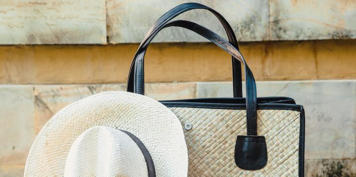 Gotta Have It: Chic Straw Beach Bag
