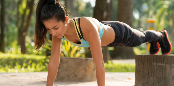 15-Minute Outdoor Full Body Workout