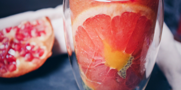 Pomegranate Grapefruit Juice Recipe