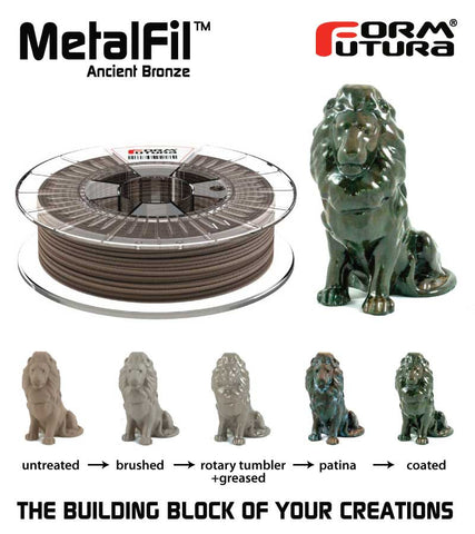 Formfutura MetalFil™ AncientBronze