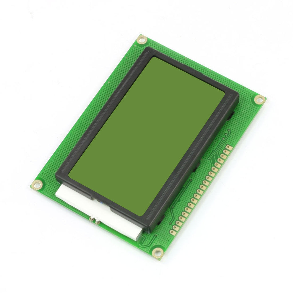 128x64 Dots Graphic Green/Yellow Backlight LCD Display Module