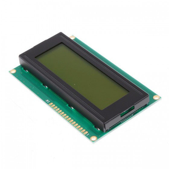 20x4 LCD Display Module HD44780 Controller Yellow/Green Backlight