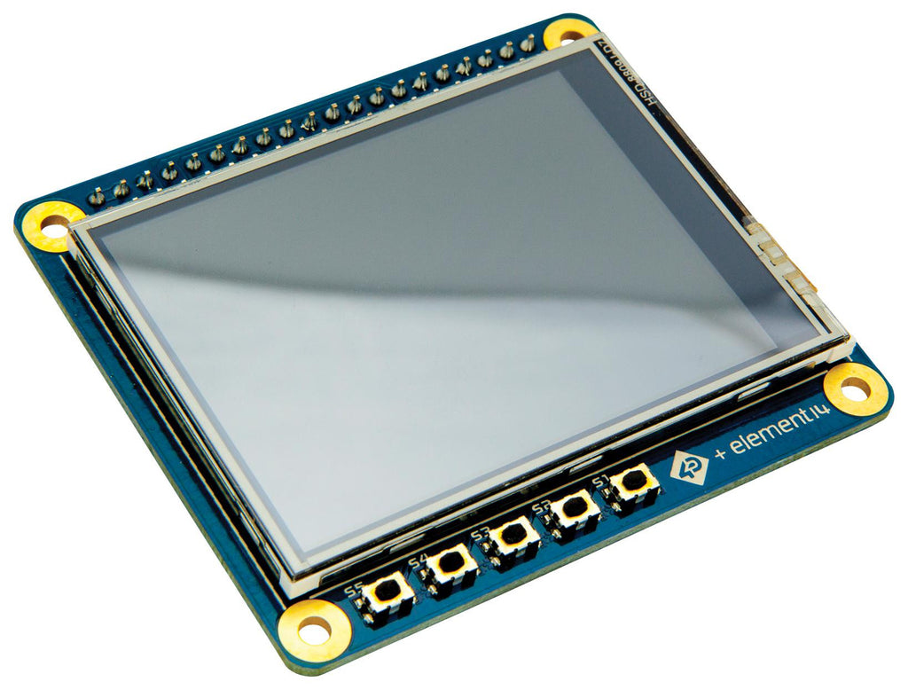 "2.4"" HAT DISPLAY FOR RASPBERRY PI 4D SYSTEMS  4DPI-24-HAT"