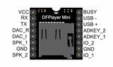 Mini MP3 Player Module with Simplified Output Mini Speaker Module for Arduino - Monster Electronics