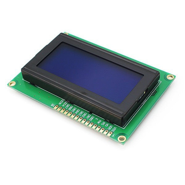 20x4 LCD Display Module HD44780 Controller Blue Backlight