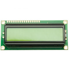 1602 16x2 HD44780 for Arduino Charactor LCD Green/Yellow - Monster Electronics