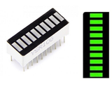 2Pcs 10 Segment JADE GREEN LED Bar Graph Display