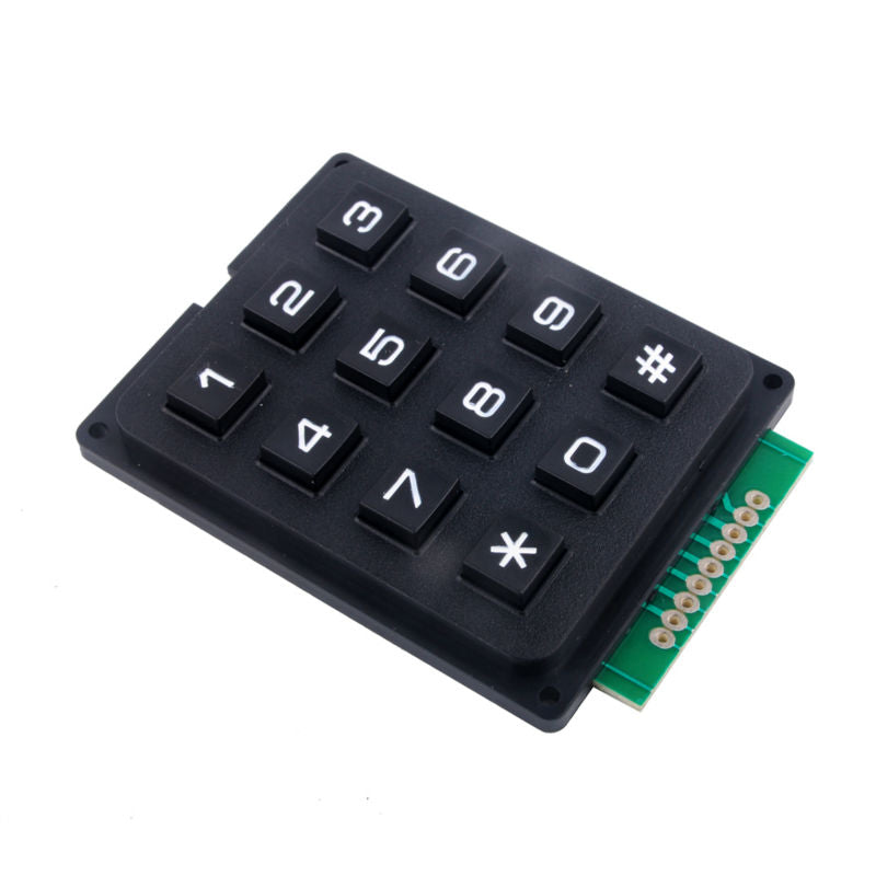 4 X 3 Matrix Keypad Module with 12 Keys (Arduino/PIC)