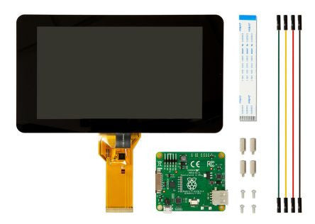 "Raspberry Pi 2/3 7"" Touch Screen LCD"