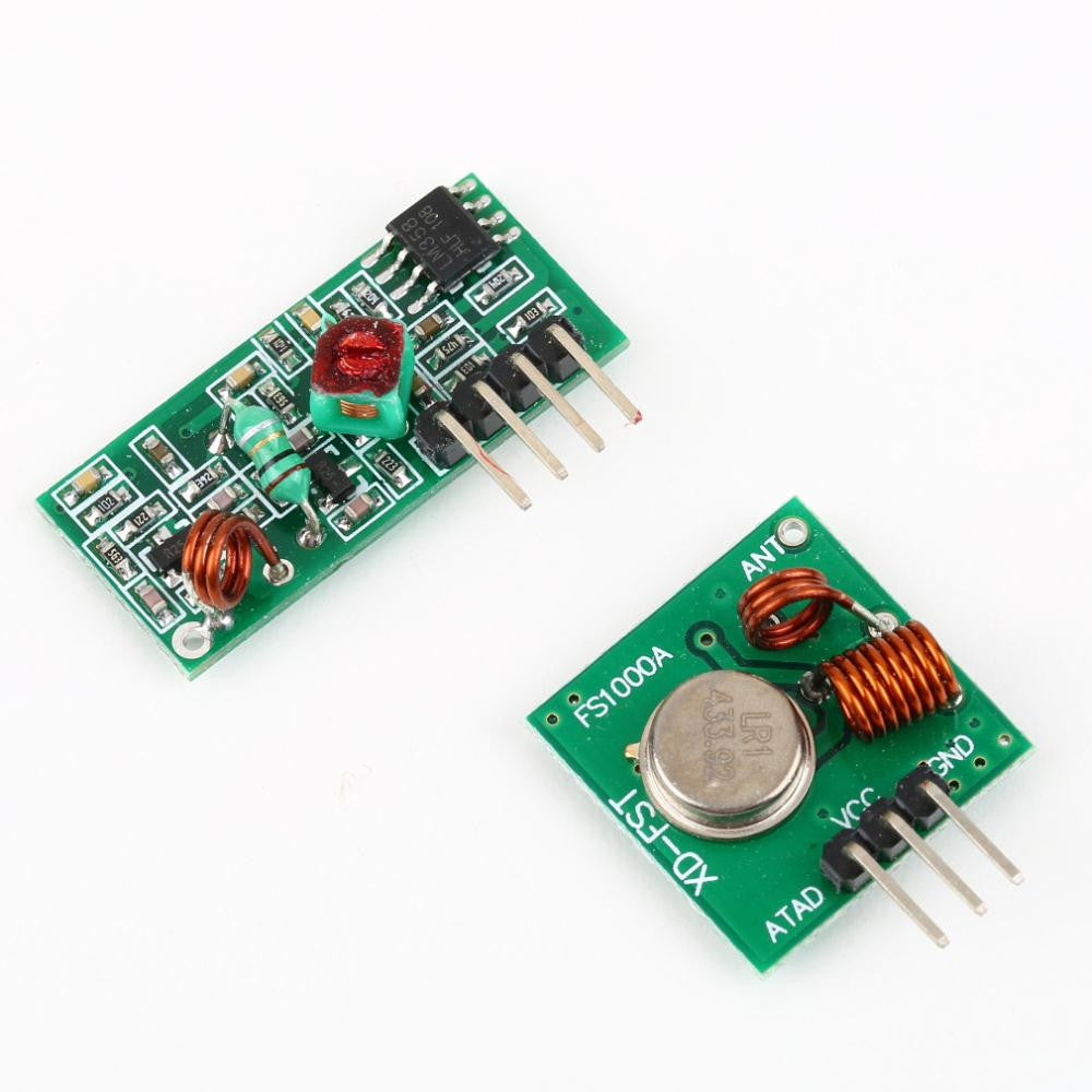 433mhz RF Transmitter and Receiver Remote Wireless Module Board