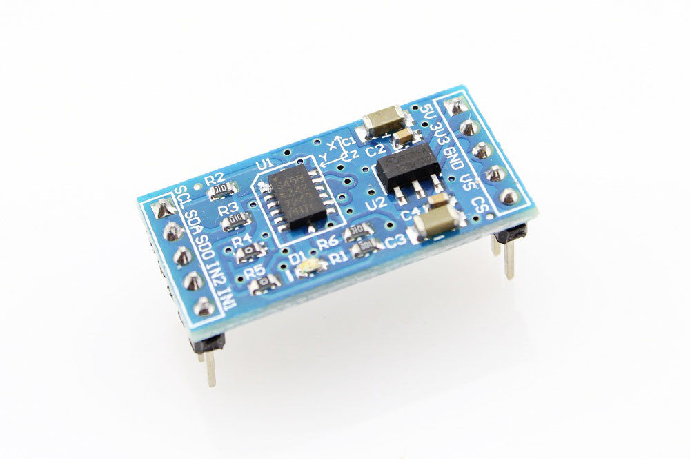ADXL345 3-axis Digital Gravity Sensor Acceleration Module Tilt Sensor Arduino - Monster Electronics