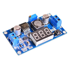 LM2596 DC-DC Adj Step-Down Power Supply Module + Display (Arduino/PIC) - Monster Electronics