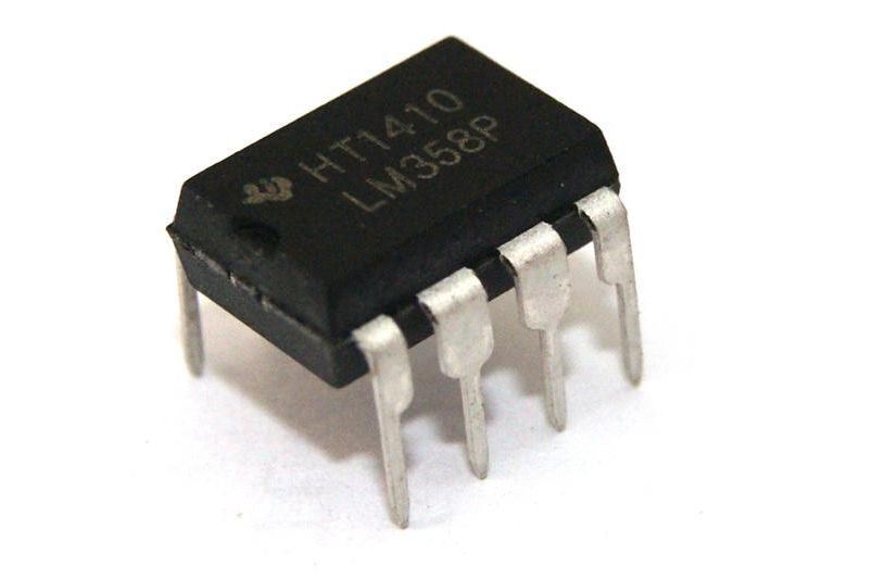 5Pcs LM358 Dual OP Amp Single Supply 8Pin DIP - Monster Electronics