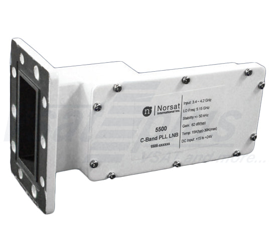 Norsat 5250R Series C-Band PLL LNB with Interference Rejection