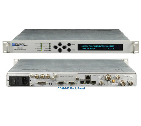 Comtech EF Data CDM-760 Advanced High-Speed Trunking Modem