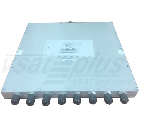 ETL System DIV08L1A-2334 8-way L-band Active Splitter