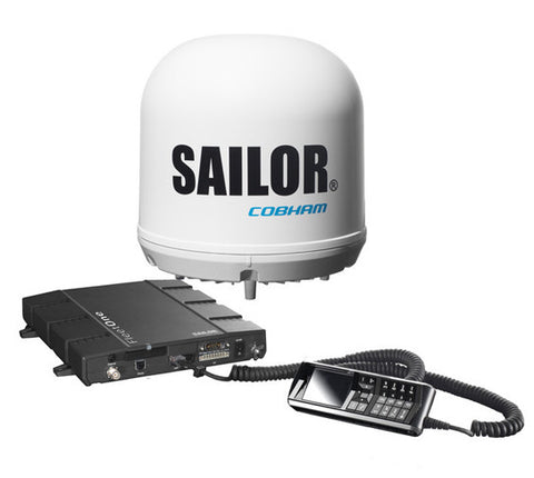 Cobham Sailor Fleet One With IP Handset