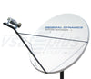 General Dynamics SATCOM Technologies 1241 Series 2.4M Ku-Band Tx/Rx Linear Cross Pol Antenna