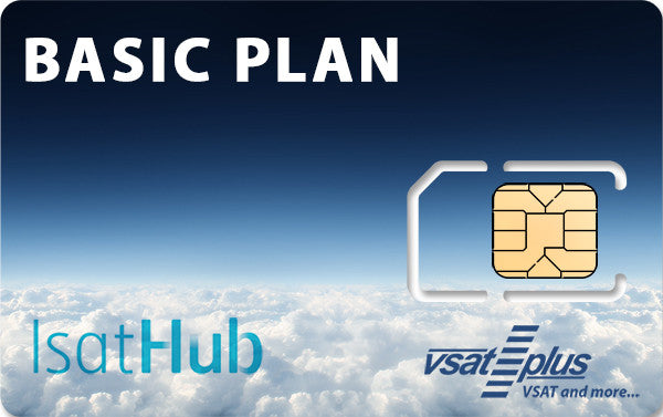 Inmarsat IsatHub Basic Plan (US$4.99/MB)