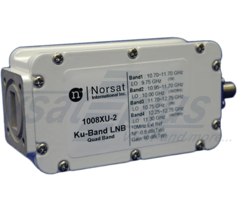 Norsat 1008XUF(N)-2 Quad-Band Universal External Reference LNB