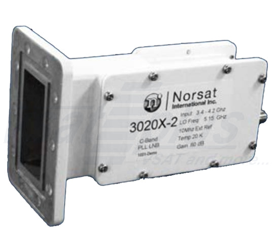 Norsat 3020X-2 Series C-Band Ext. Ref. PLL LNB