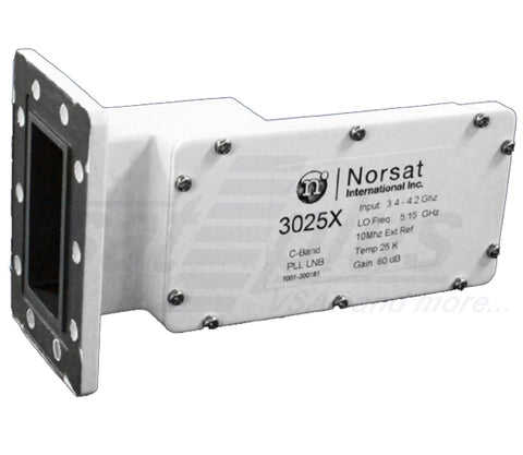 Norsat 3020X Series Ext. Ref. PLL C-band LNB