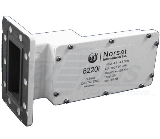 Norsat 8530I Series DRO C-Band (4.5 to 4.8 GHz) Digital LNB