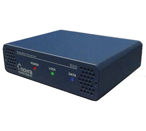 Novra S200 DVB-S2 Satellite Data and Video Receivers